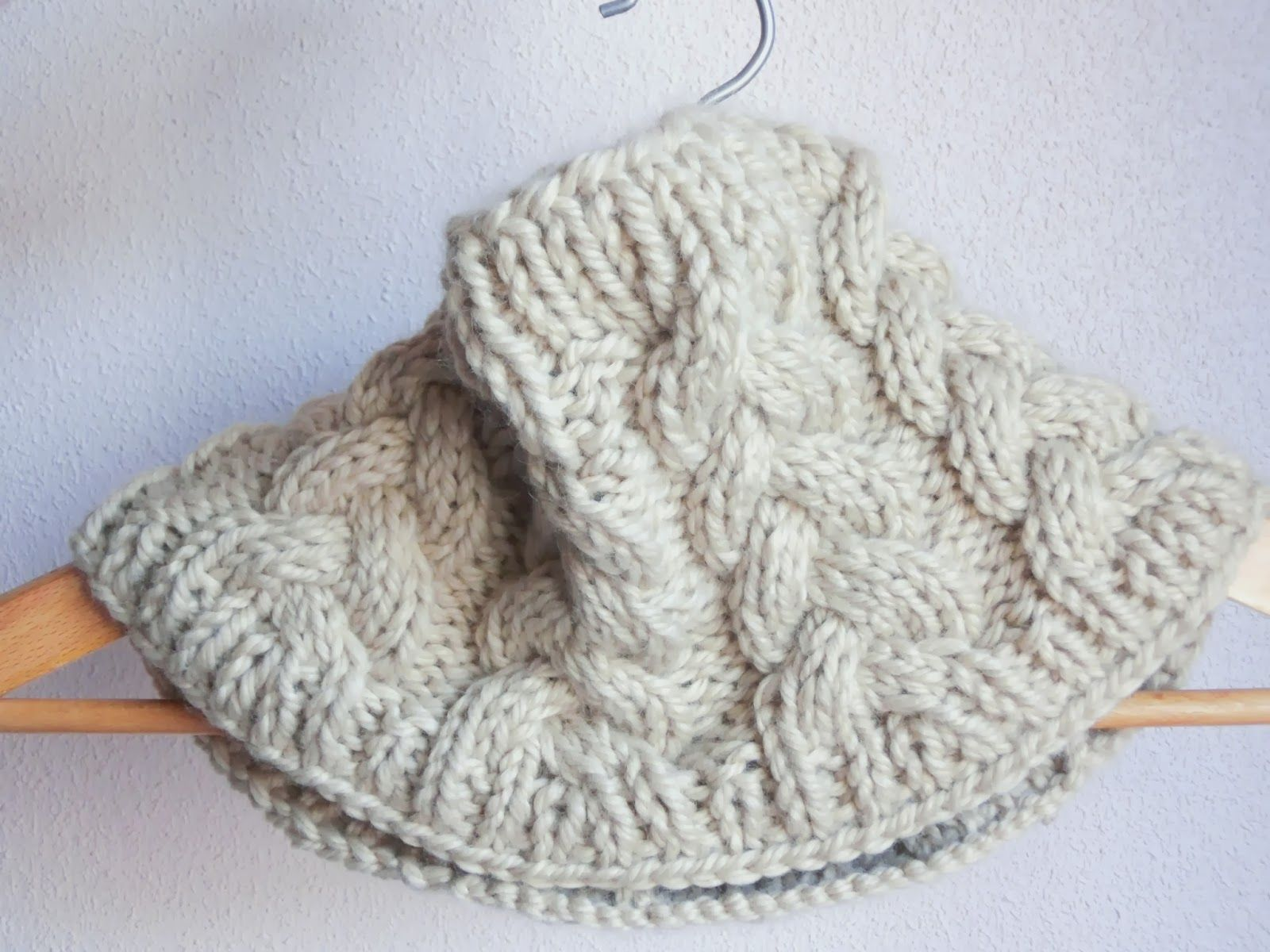 Olann World: Cuello trenzado | knitting | Pinterest | Stricken