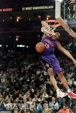 Vince Carter He Put His Arm In The Rim Best Dunks Basketball Sports Basketball