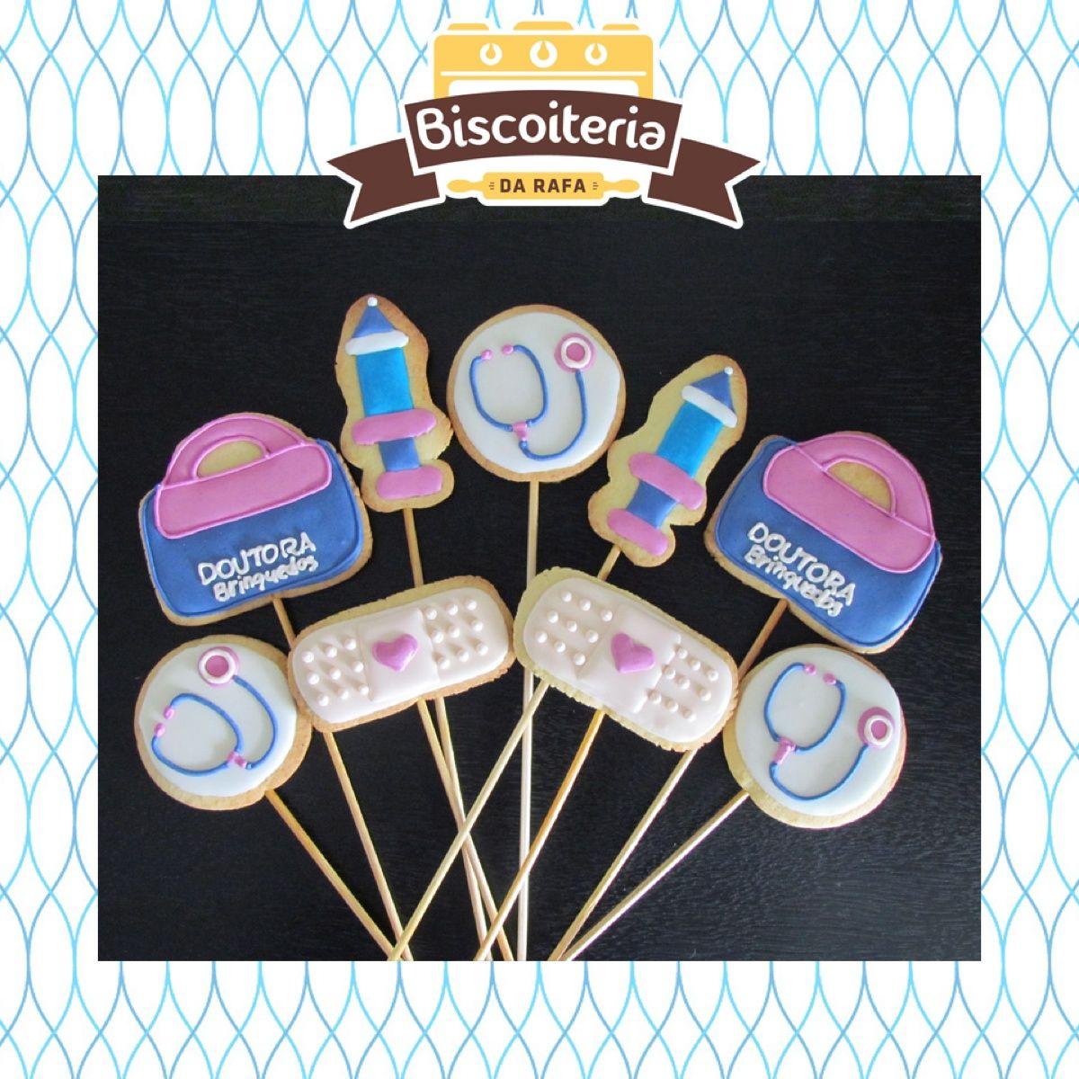 Biscoitos doutora brinquedos / doc mcstuffins cookies