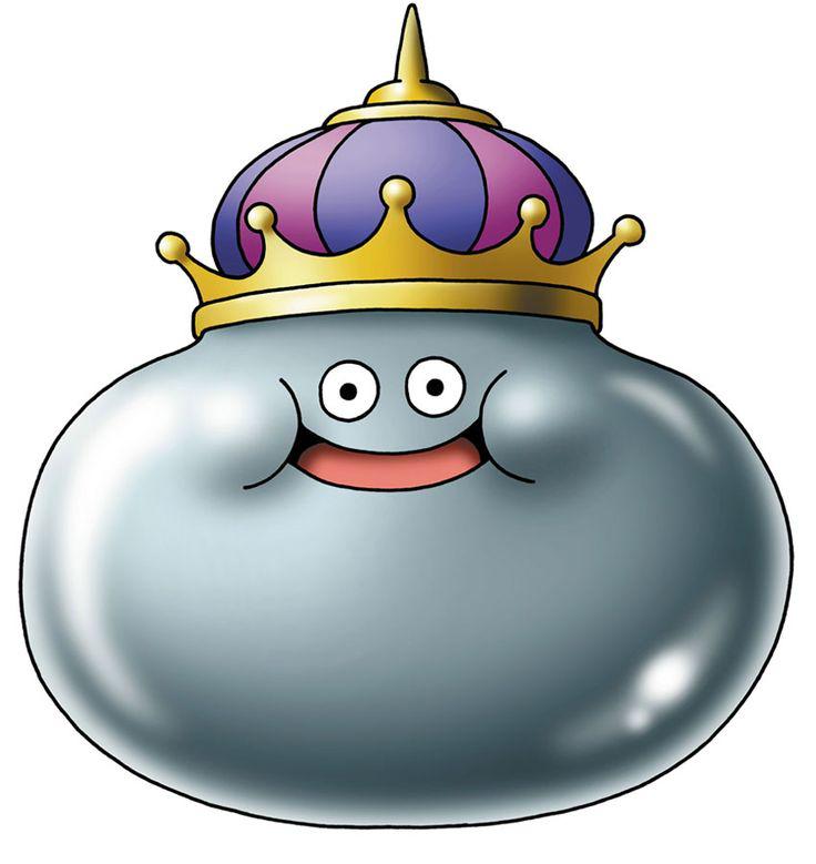 Metal King Slime Dragon Quest Dragon Quest Tattoo Monster Design