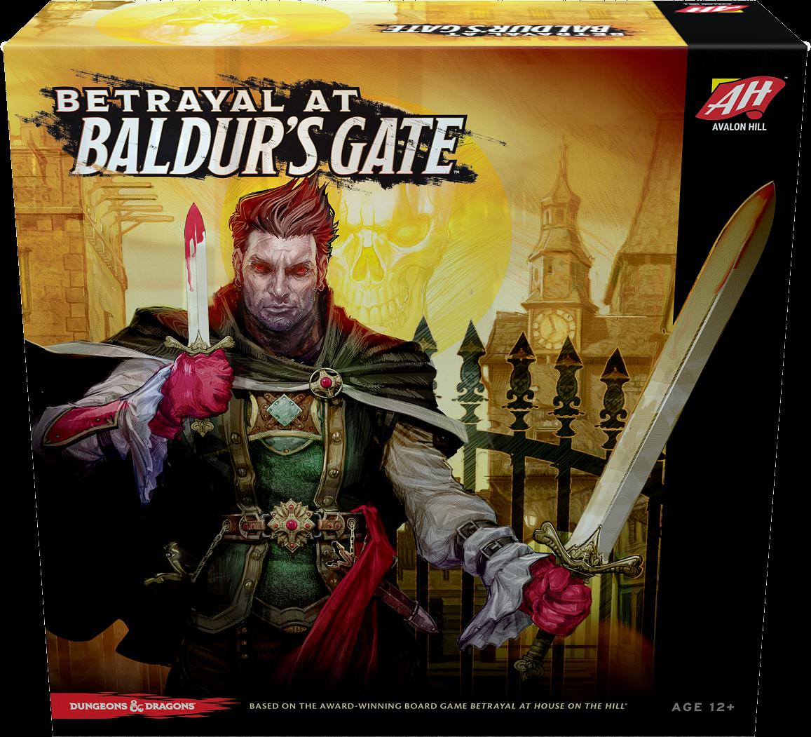 Betrayal at Baldur's Gate Image BoardGameGeek Baldur