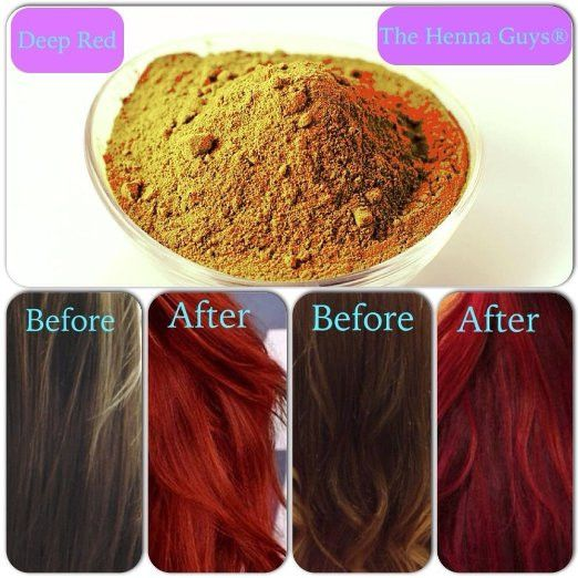 Henna Hair Dye For Deep Red