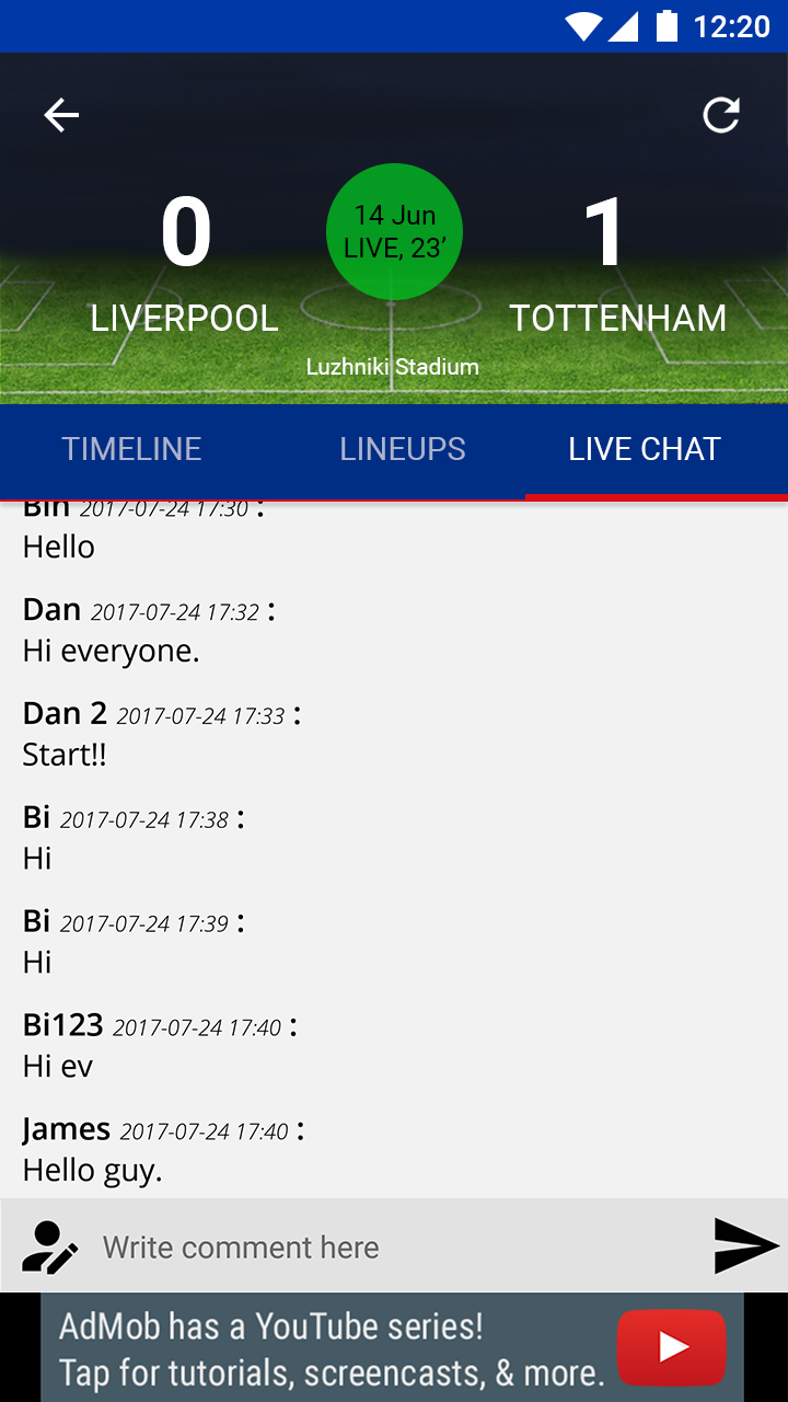 Pin By Hicom Solutions On Live Score Football App Template Source