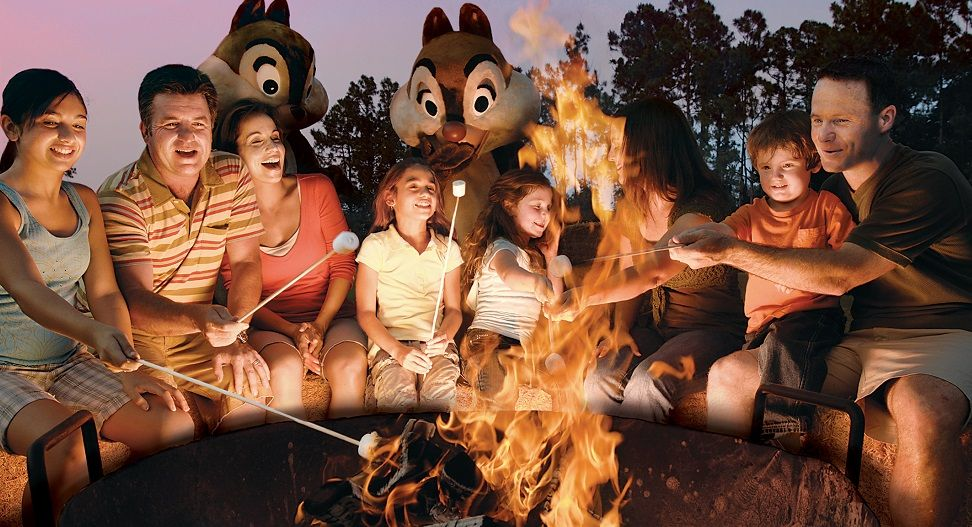 Fort Wilderness Campfire Walt Disney World