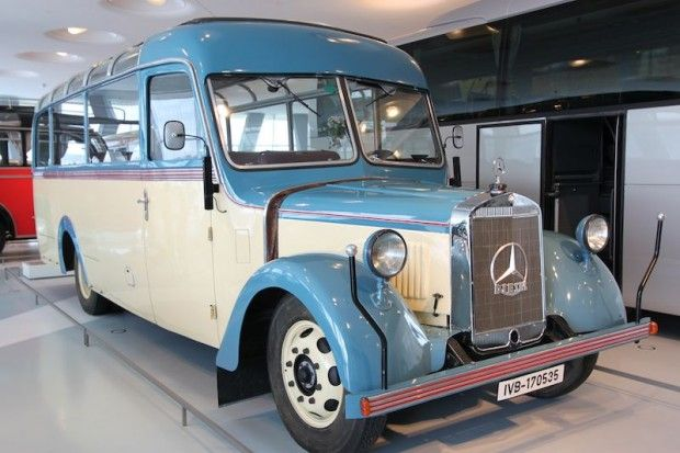 Mercedes Benz Museum Profile And Photos Mercedes Bus Mercedes Truck Mercedes Benz