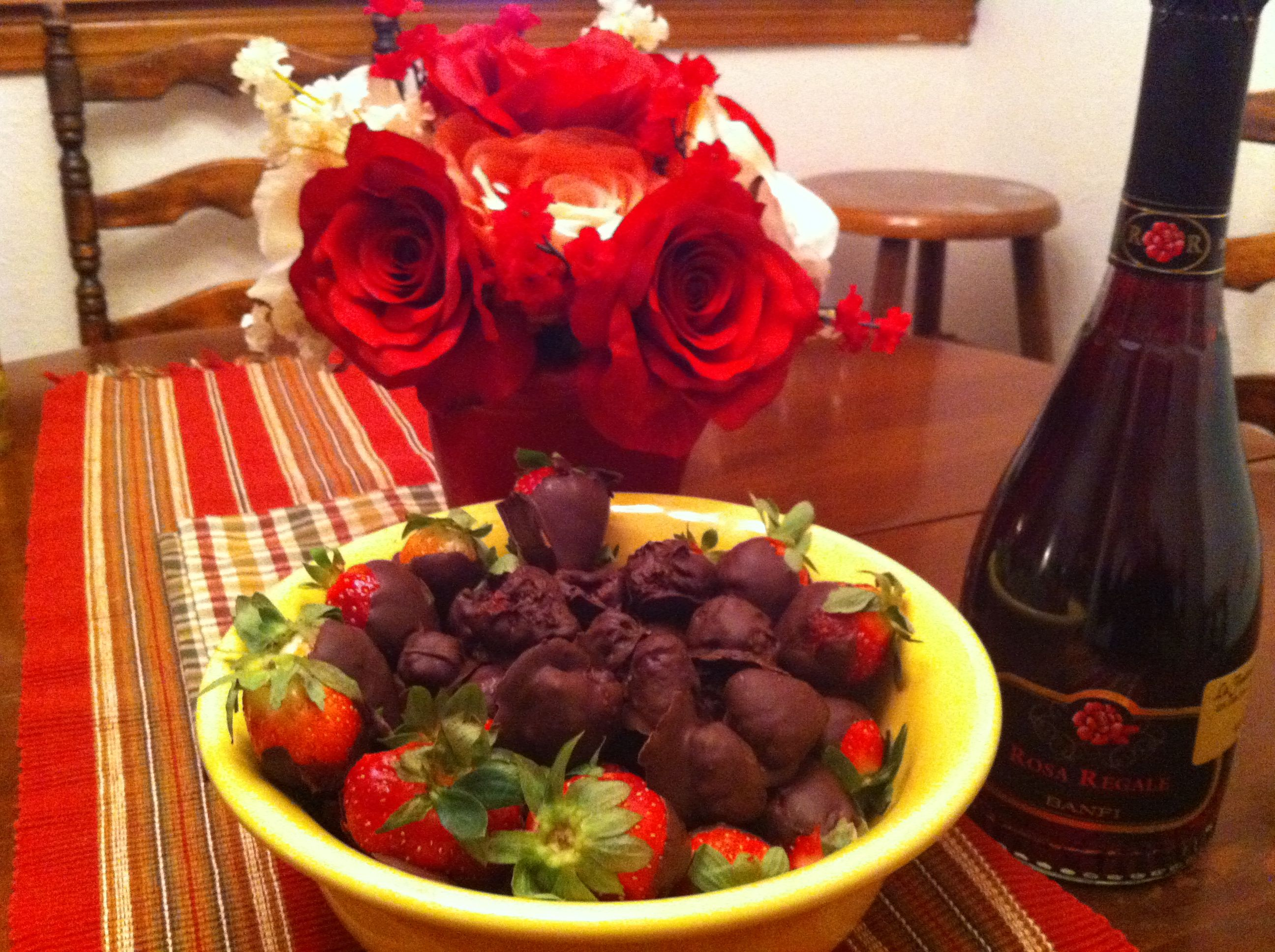 My homemade Godiva chocolate covered strawberries | Food and Drink ...
