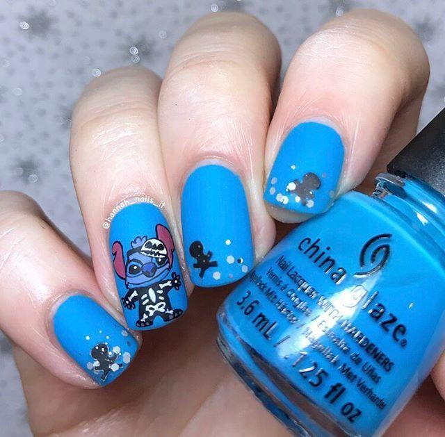 WEBSTA @hannah_nails_it Like my Baymax, I guess Stitch ...