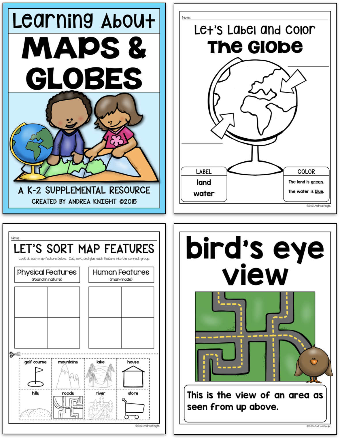 Maps And Globes Supplemental Materials For K 2 Social