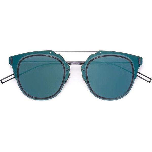 783cb8366f7f Dior Eyewear 'Composit 1.0' sunglasses ($590) ❤ liked on Polyvore featuring  men's