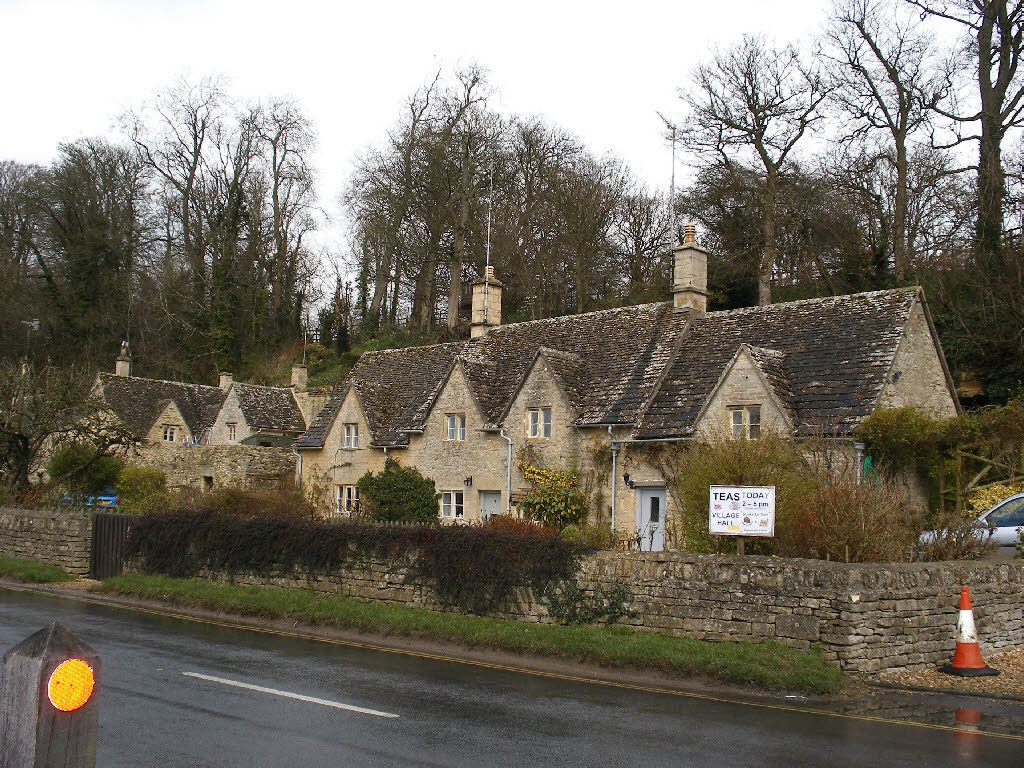 Bibury Stone Cottages with Tea Room | Stone cottages, Cozy ...