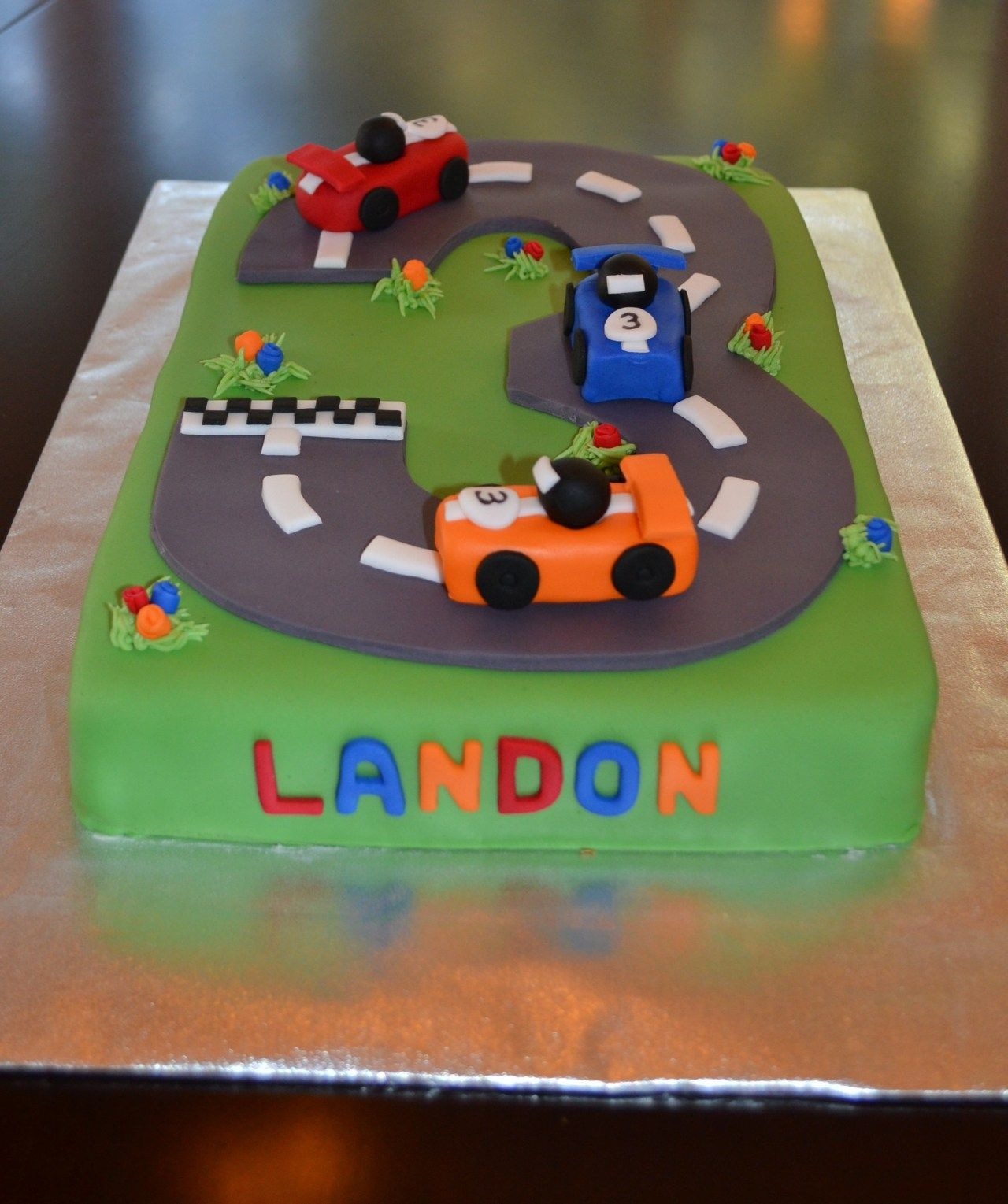 Amazing Race Car Birthday Cake Race Car Cake Race Car Cakes Cars Funny Birthday Cards Online Elaedamsfinfo