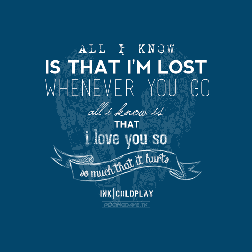 Tattoo Quotes From Songs: Best 25+ Ink Coldplay Ideas On Pinterest