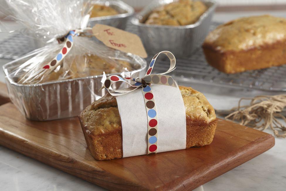 Sour Cream Banana Mini Breads My Food And Family Bread Recipes Sweet Kraft Recipes Sour Cream