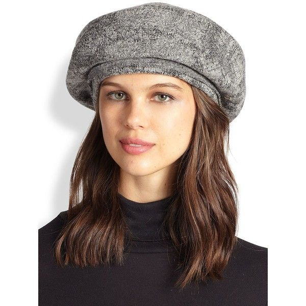 a0441dd49682e Helen Kaminski Kerr Wool Beret (190 CAD) ❤ liked on Polyvore featuring  accessories