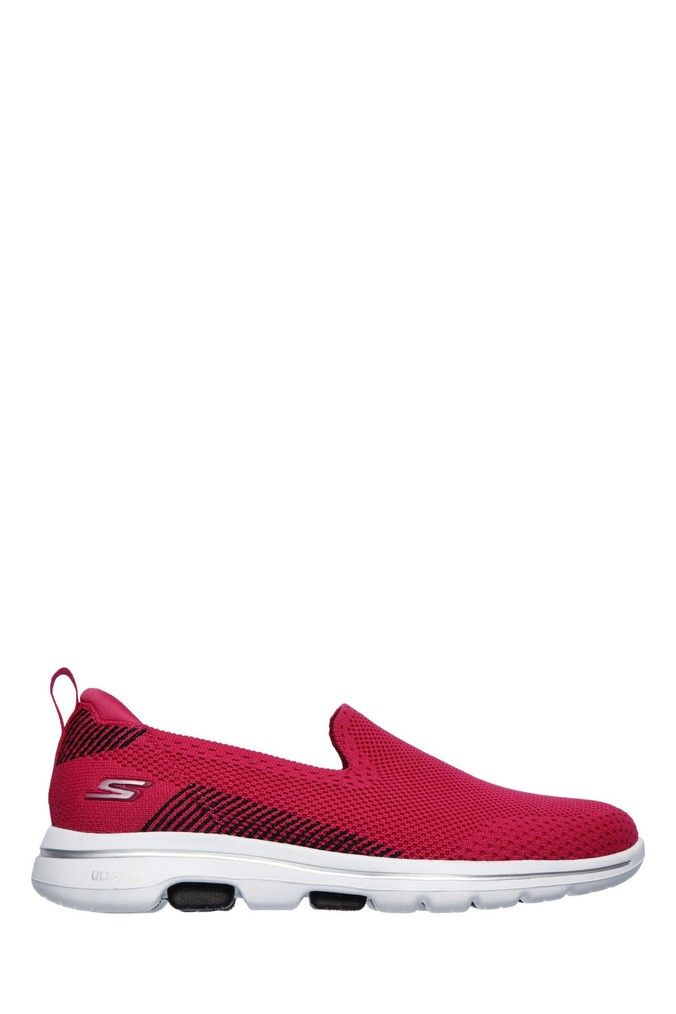 Womens Sketchers Go Walk 5 Prized Shoes Pink In 2020 Sketchers