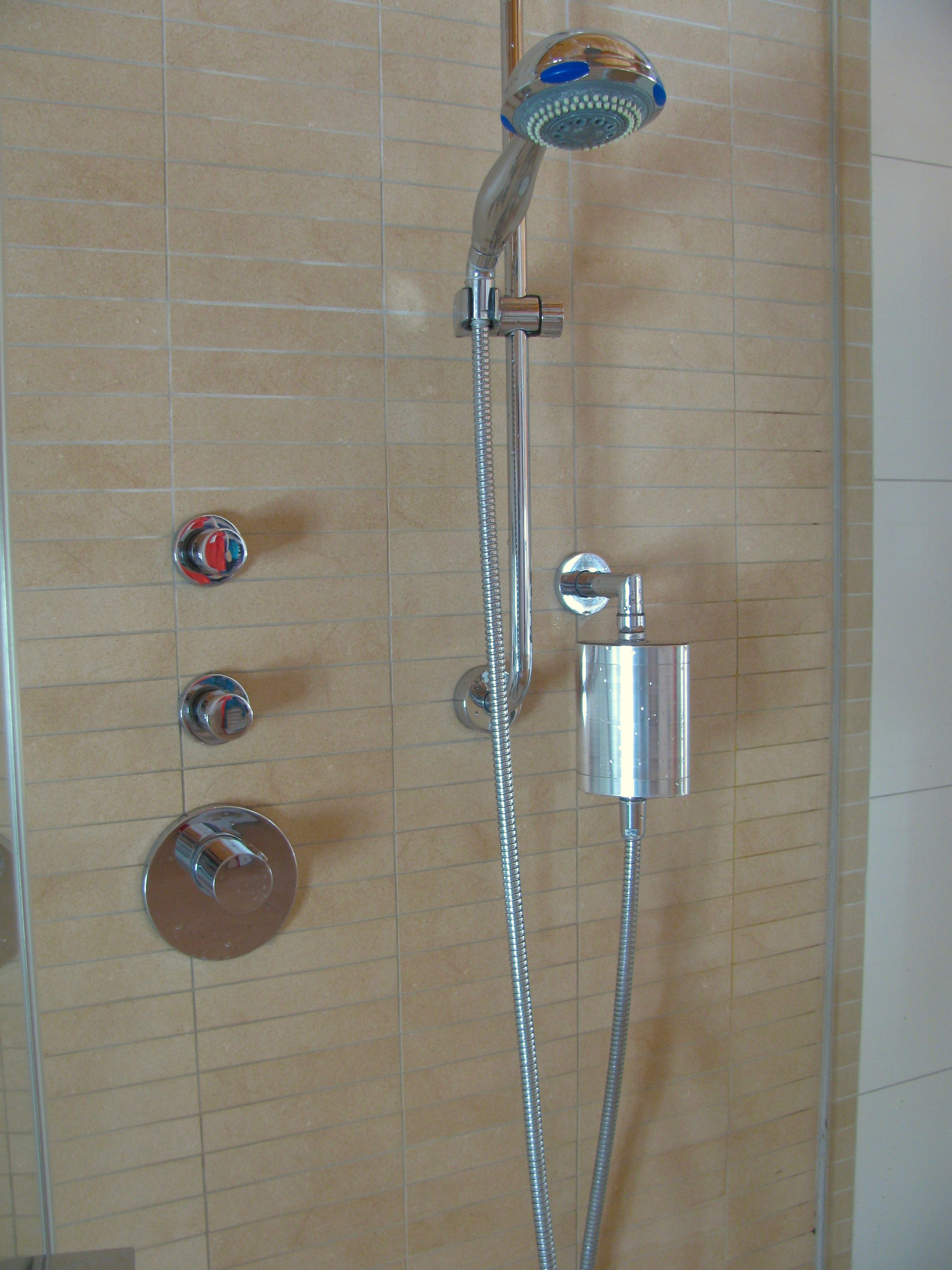 Accessories Furniture Adorable Rain Shower Head Installation With Brushed Nickel Modern For Bathroom