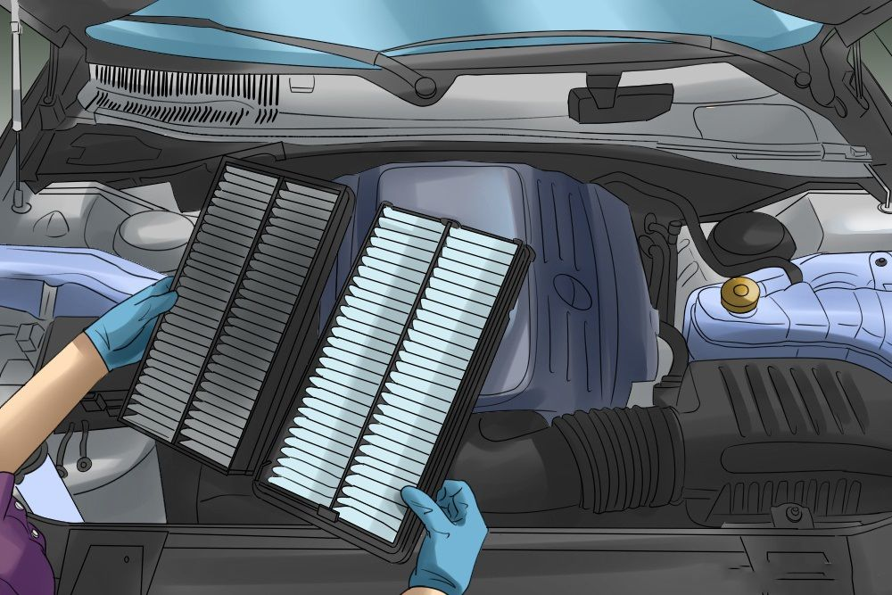 How to Replace Your Air Filter on Honda Air filter