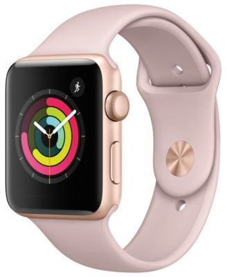 Apple Watch Series 3 (GPS), 42mm Gold Aluminum Case with