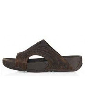 fe32559d1a61 Mens FitFlop Freeway Sandals Dark Chocolate