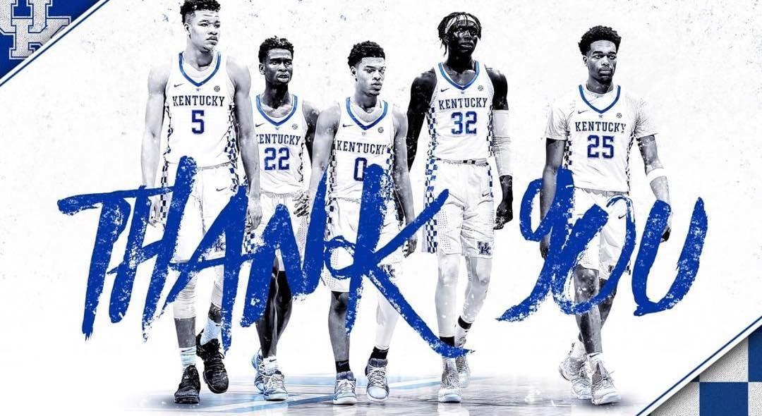 Thank You Bbn We Ll Be Back Bbn Kentuckymbb Uk Wildcats Basketball Kentucky Wildcats Kentucky