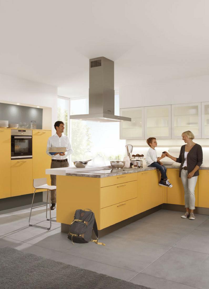 Inspiration: Diese gelbe Design-Küche sorgt für gute Laune beim ...