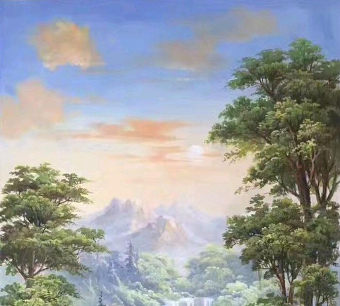 27 Gambar Lukisan Pemandangan Menggunakan Crayon Gambar Lukisan Alam Yang Ada Disini Ada Beragam Jenisnya Seperti Lukisan Peman Di 2020 Pemandangan Gambar Air Terjun