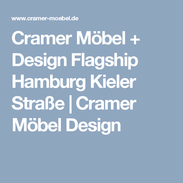 cramer mobel design flagship hamburg kieler strasse cramer mobel design