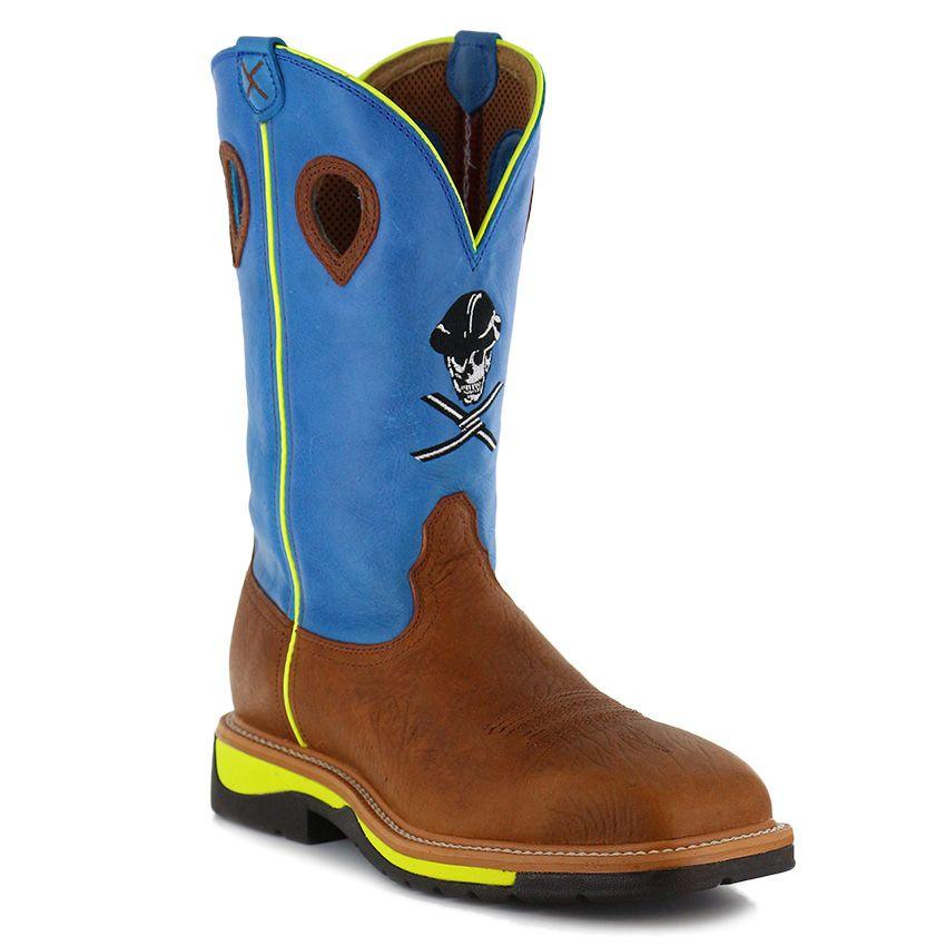 9c300b7f351 Twisted X Men s Lite Steel Toe Work Boots