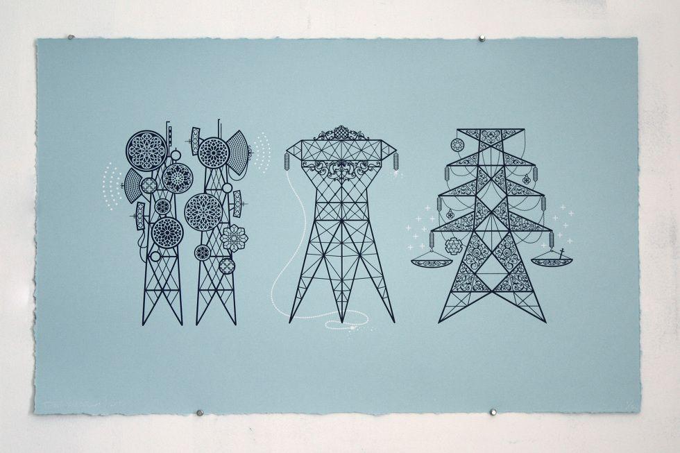 Three Pylons Proposal - Dan Funderburgh Gamma