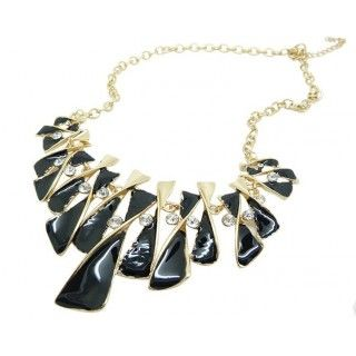 Fashionable Branches Drip Exaggerated Short Necklace