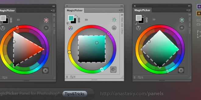 How A Photoshop Color Wheel Plugin Simplifies The Use Of Color