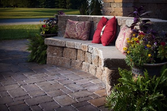 Take A Seat Pavers Are For More Than Just Flooring Wall Products