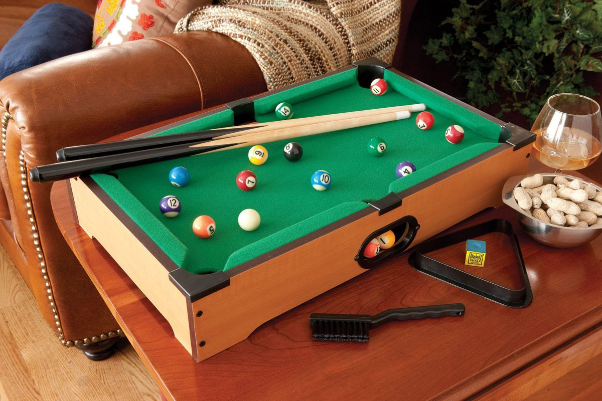Tabletop Games That Are Fun For The Whole Family Mini Pool Table