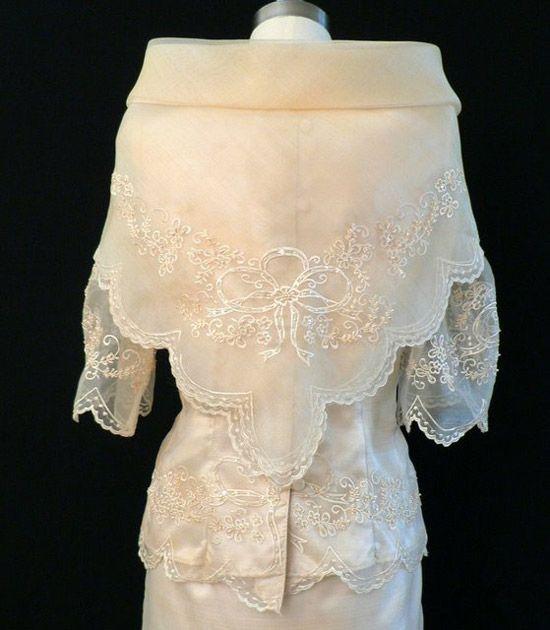 Pina Wedding Gown: Image Detail For -This Beautiful Baro At Saya Will Help