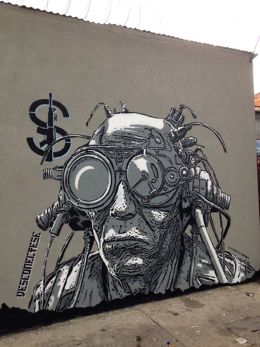 Art Project Colombia - DJLU #StreetArt