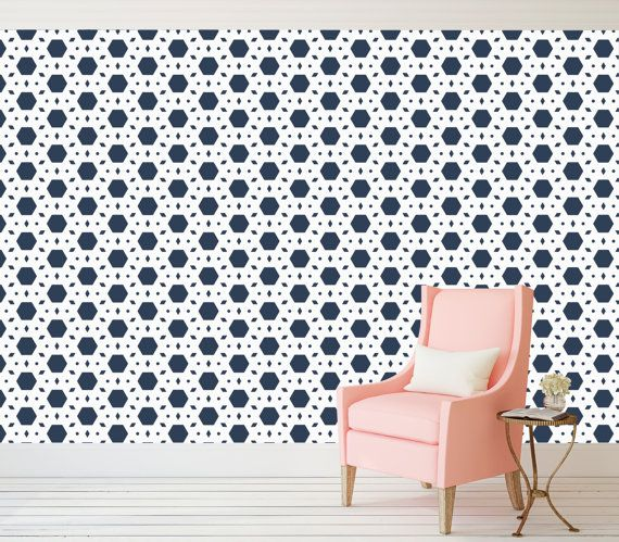 Lorem Pattern Peel And Stick Wallpaper   Adhesive Vinyl - Custom vinyl wall decals removable   how to remove