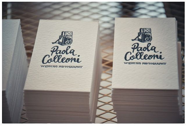 letterpress business cards by SHHH MY DARLING