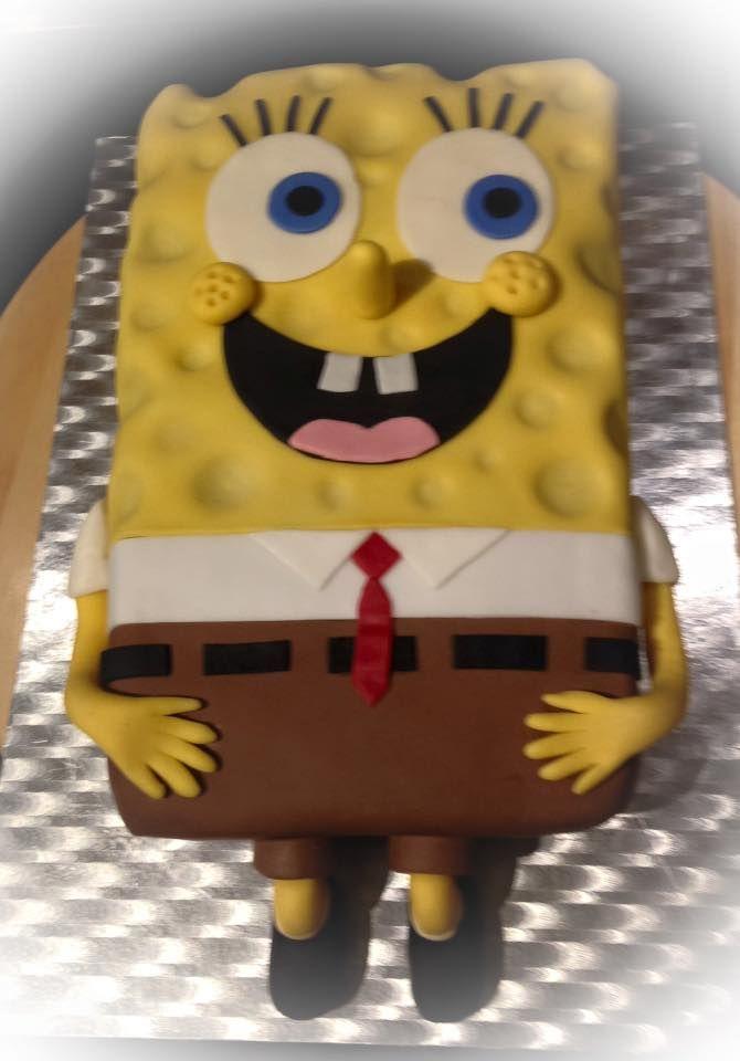 spongebob torte spongebob cake meine motivtorten. Black Bedroom Furniture Sets. Home Design Ideas