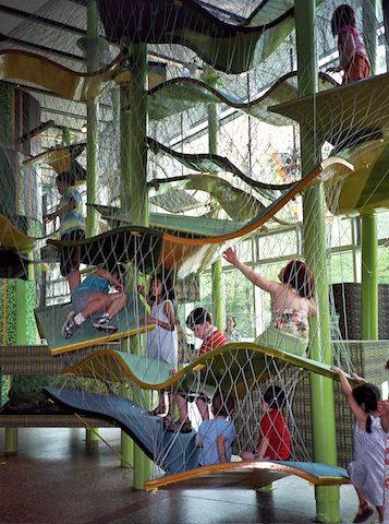 5 Indoor Tree Houses To Climb Indoor Tree House Tree House Indoor Climbing