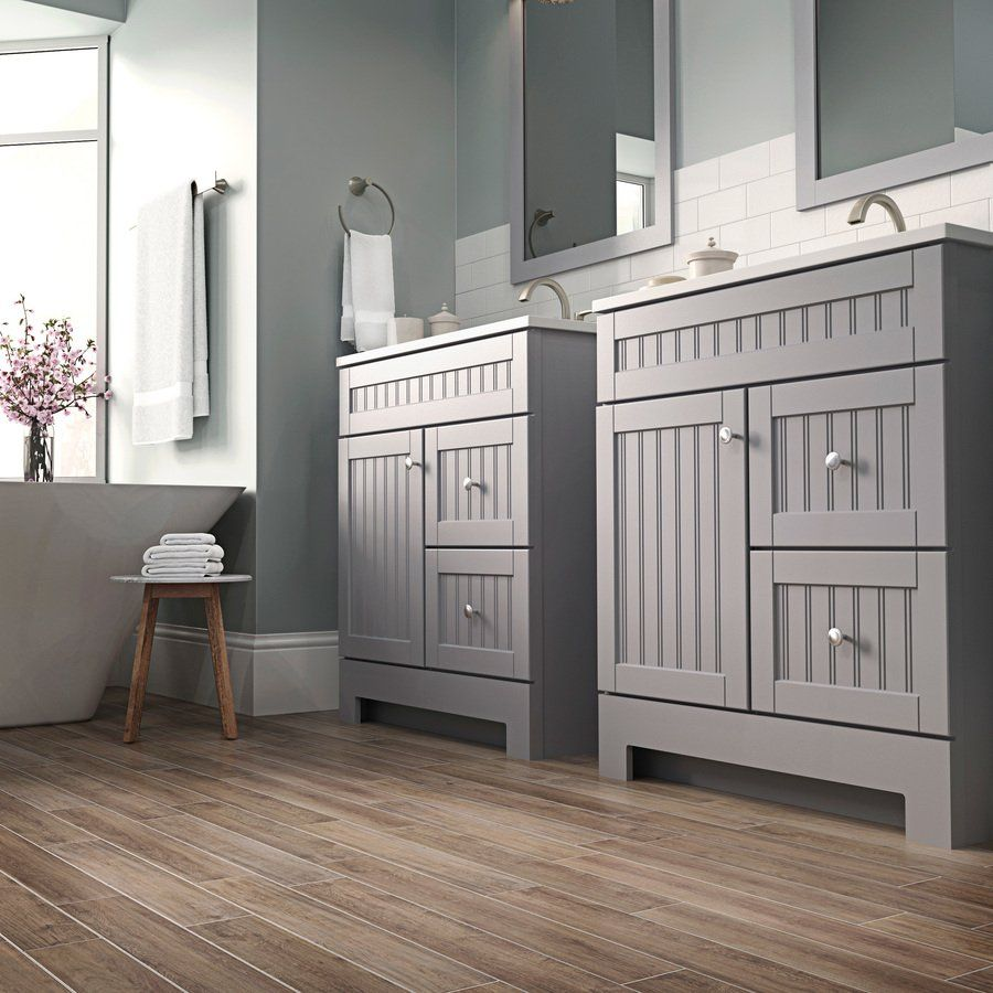 A clean, modern bathroom design starts with a strong ...