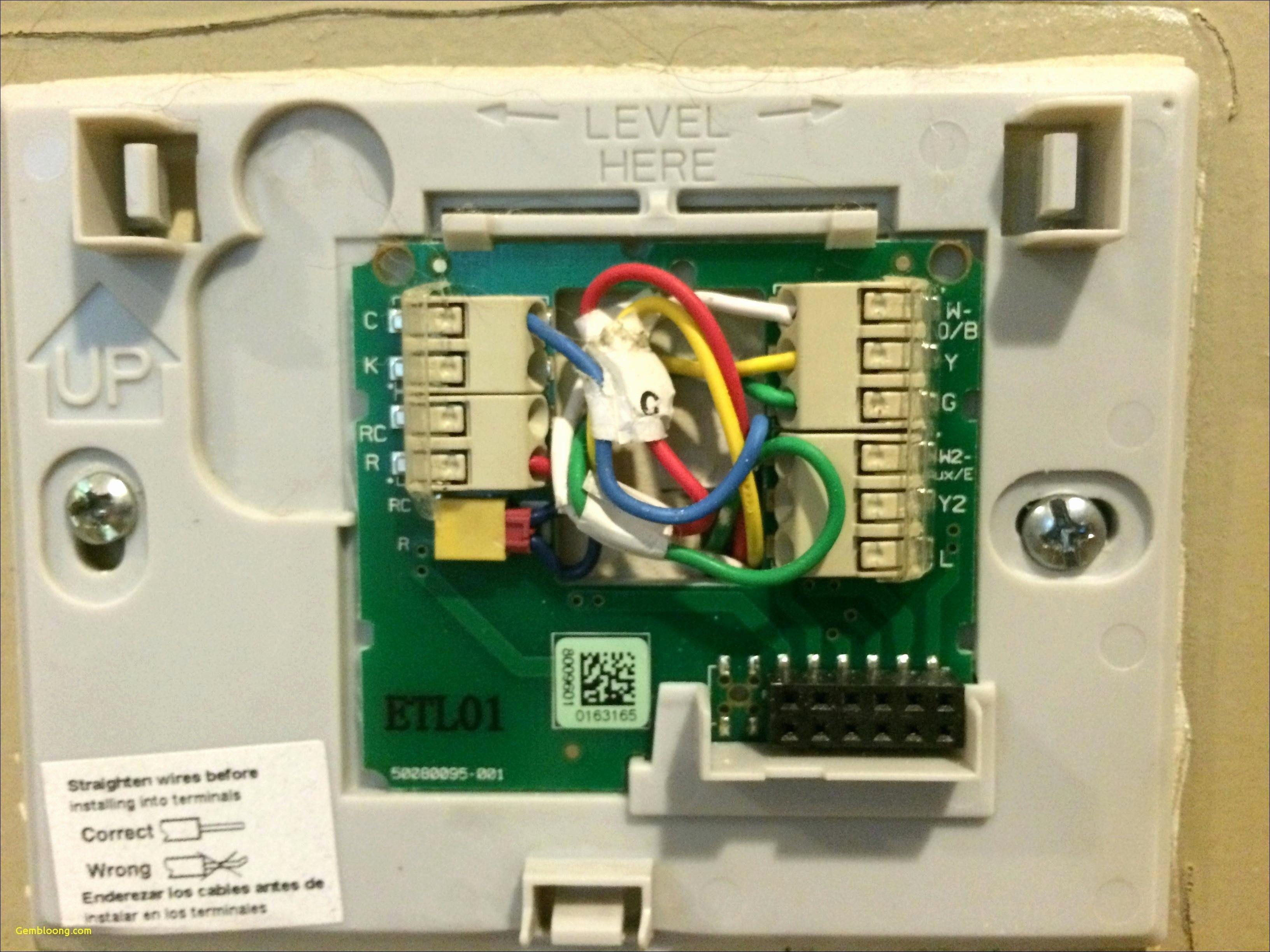 New Honeywell thermostat Rth7600 Wiring Diagram diagram