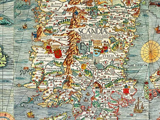 Illustrated map norway google search my illustrated map illustrated map norway google search gumiabroncs Choice Image