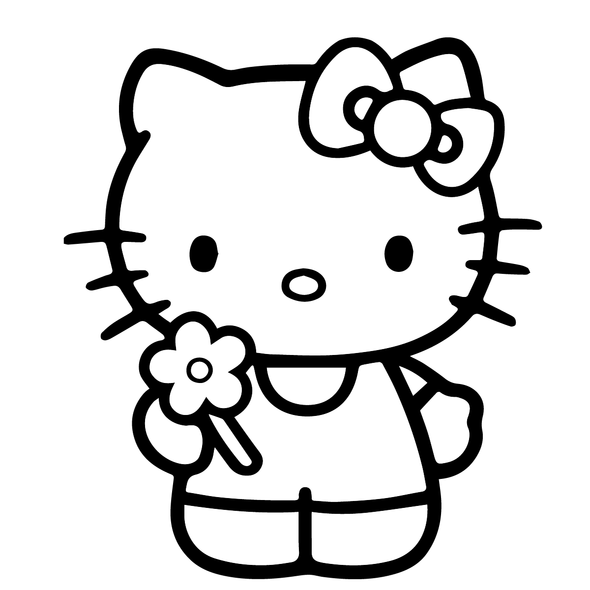 Hello Kitty Coloring Page Hellokitty Coloringpages