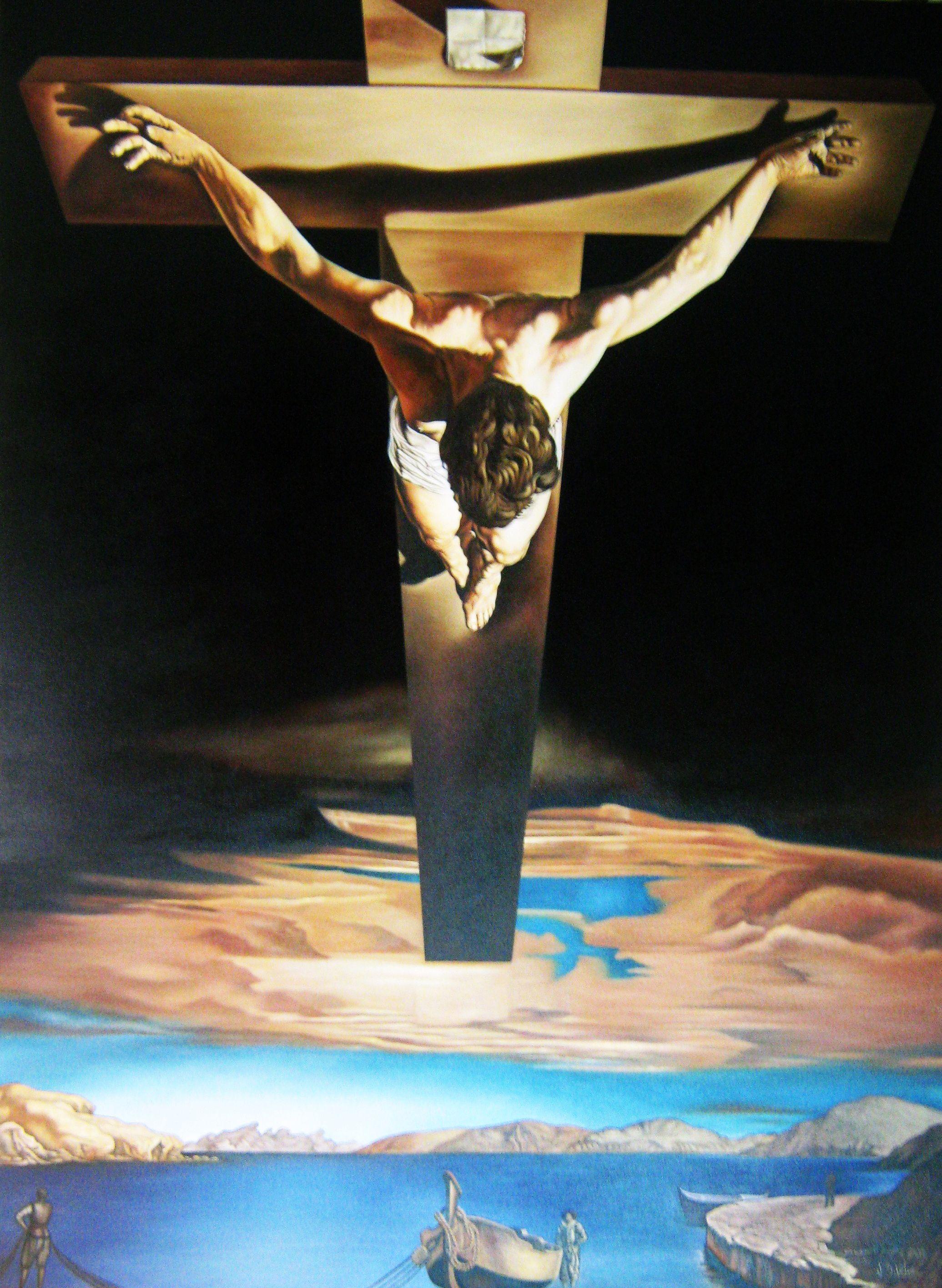 Resultado de imagen para cristo de san juan de la cruz dali