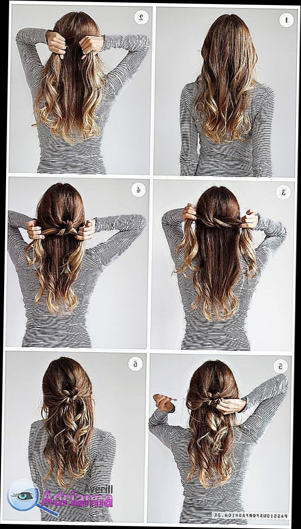 Hair Style Girl Step By Step Simple Girls Hairstyles Steps By Steps Is A Cool Tool That Will Help Hair Styles Girls Hairstyles Easy Easy Hairstyles For Kids