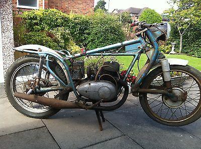 1956 Follis 250 Barn Find Motorcycle