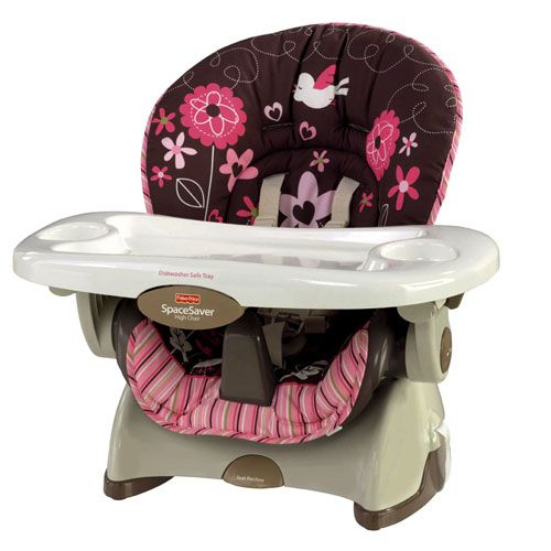 fisher-price spacesaver high chair..gonna need to invest in one of
