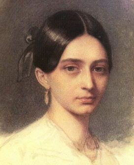 Clara Wieck, married to Schumann (1819 –1896)- Composer, (concert)pianist, confidant of Brahms and mother of eight children. Discouraged by her father she became with Fanny Mendelsohn the champions and musical celebrities of the 19th century and unique examples for the human species. Clara Wieck and Fanny Mendelsohn: a Nobel prize in Music for both of them.