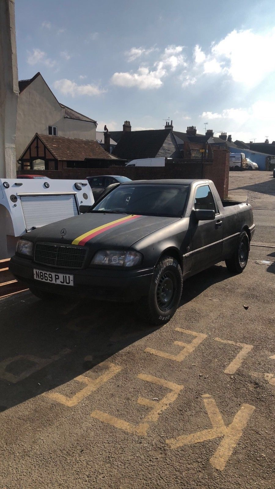 Mercedes C180 Pick up project car | Mercedes c180, Salvage cars and Cars