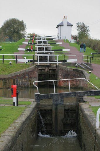 Foxton Locks Canals Places Canal Boat